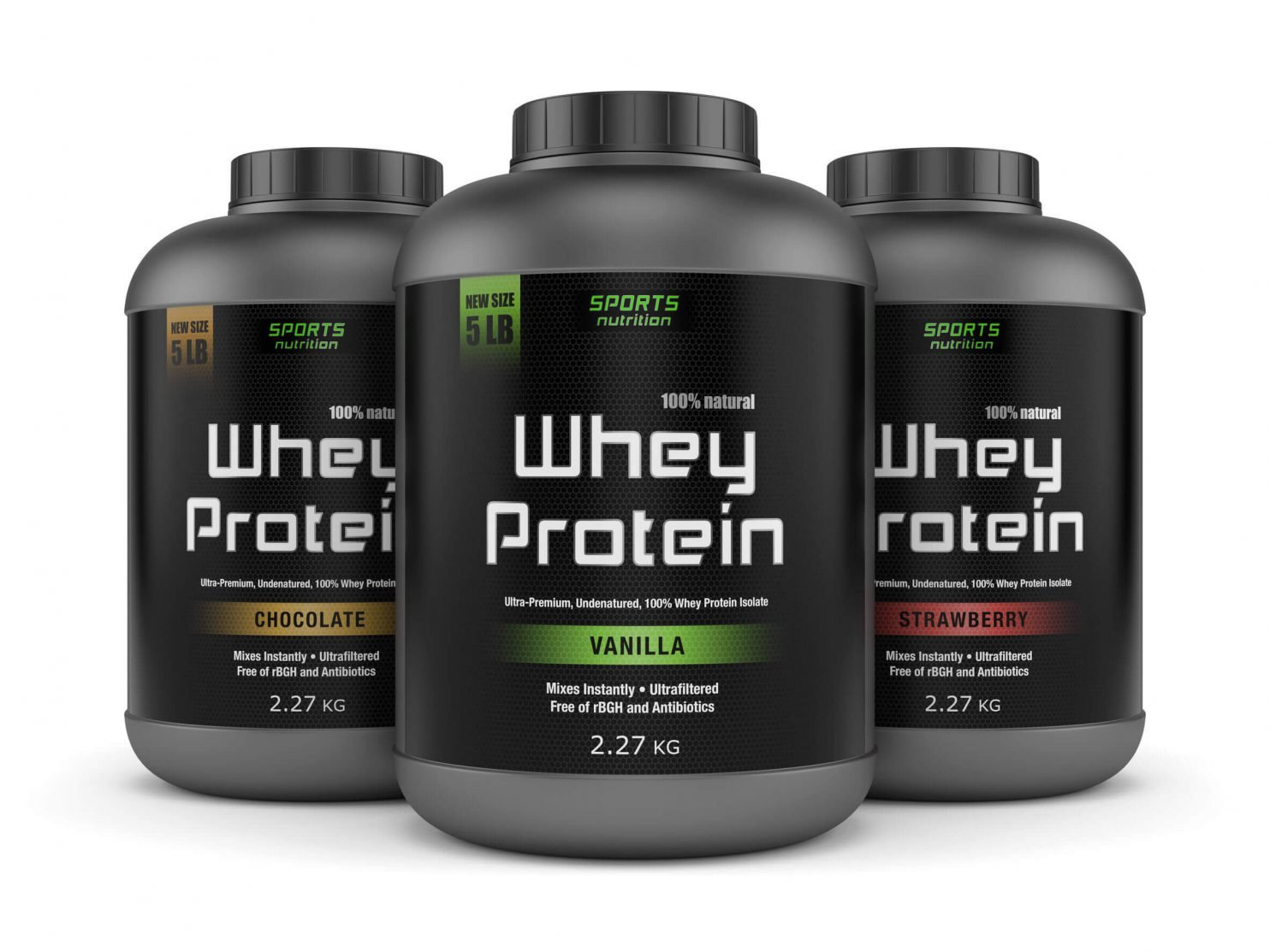 Impressive Supplements: Natural Organic Whey Protein