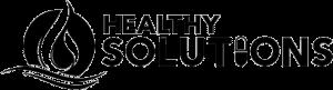 Healthy Solutions Black Logo - Healthy Solutions