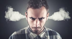 Angry Man with Steam Coming From His Ears - Healthy Solutions
