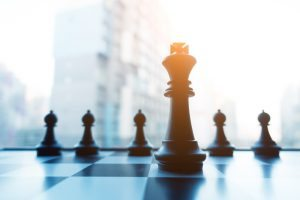 Chess Game with King Infront of Pawns - Healthy Solutions